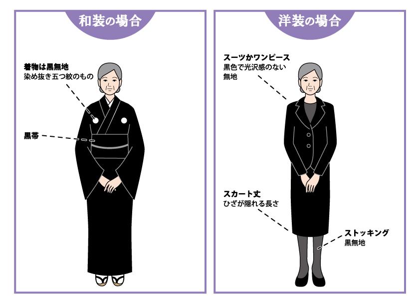 大人・女性の正喪服