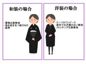 女性の正喪服